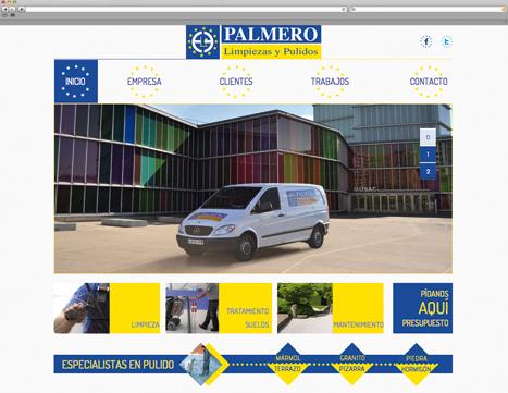 Diseño web - Indiproweb - Limpiezas Palmero