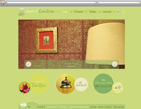 Diseño web - indipro - hostal londres