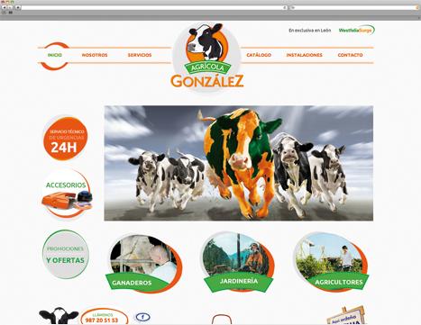 Diseño web - Indiproweb - Agrícola González