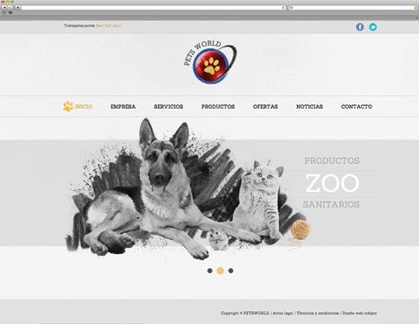 Diseño web - Indiproweb - Petsworld