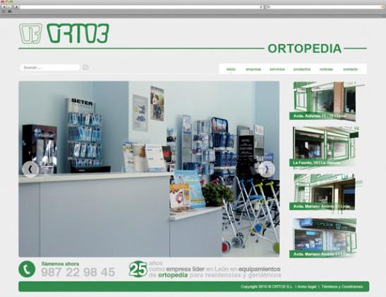 Diseño web - Indiproweb - Orto3