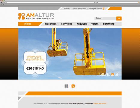 Diseño Web - Indiproweb - Amaltur