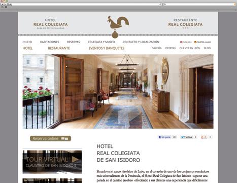 Diseño Web - Indiproweb - Hotel Real Colegiata de San Isidoro