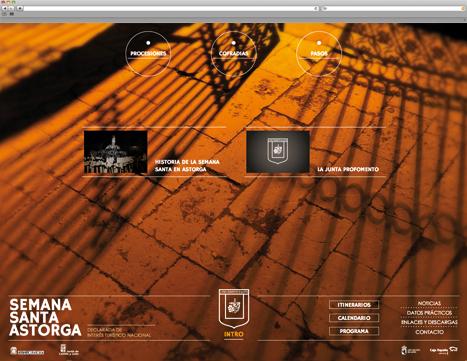 Diseño Web - Indiproweb - Semana Santa Astorga
