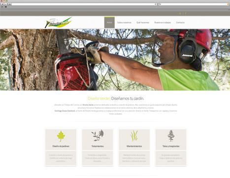 diseño web - diseño verde