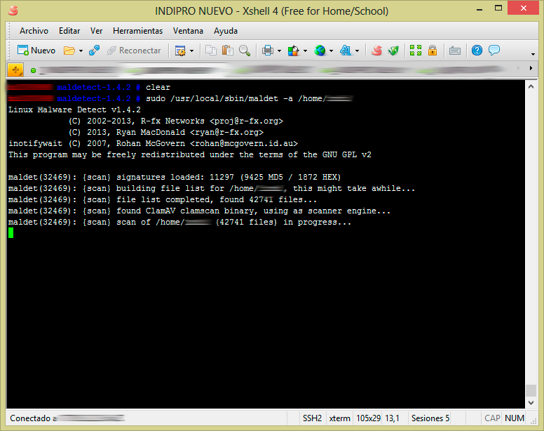 detectar malware en host