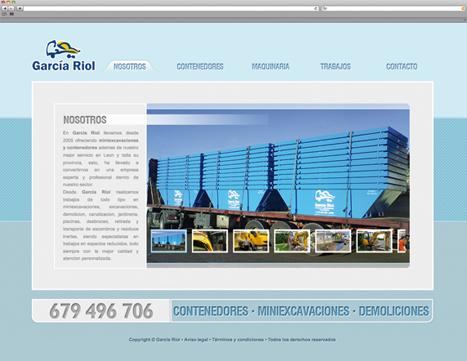Diseño web - Indiproweb - Contenedores garcía riol