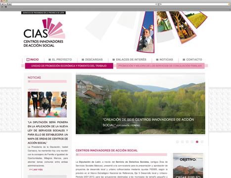 Diseño Web - Indipro - Cias